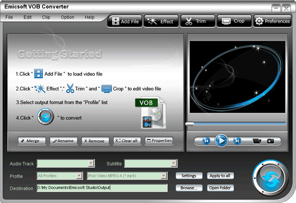 vob file to mp4 converter free download