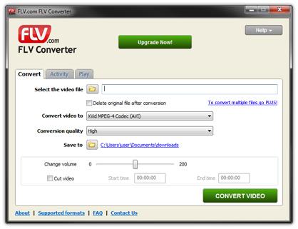 convert flv to avi free