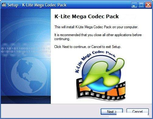 windows 7 mp4 codec