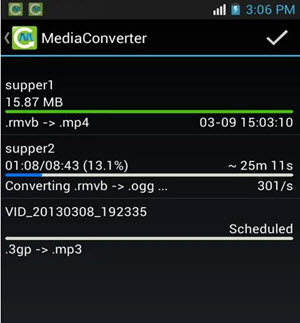 how to convert mp4 to mp3 android